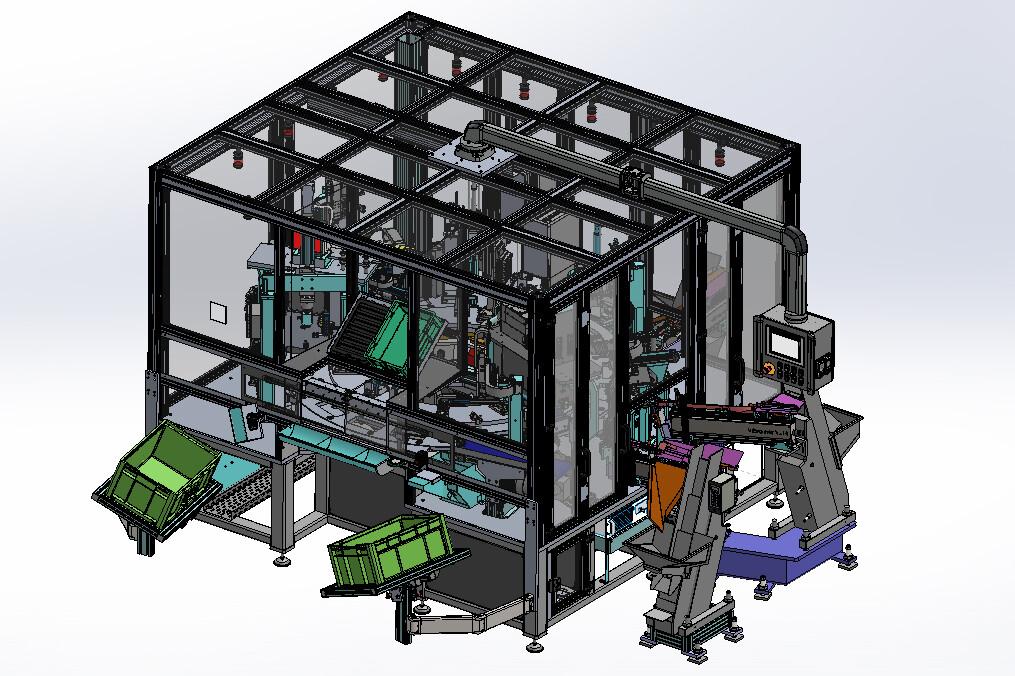 Mechanische Konstruktion Sondermaschinen